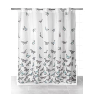 Beldray Hookless Shower Curtain - Butterflies