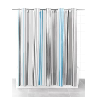 Beldray Hookless Shower Curtain - Stripes