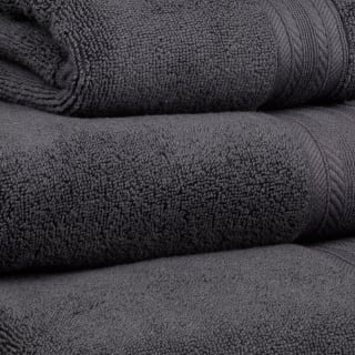 Signature Zero Twist Bath Sheet - Charcoal