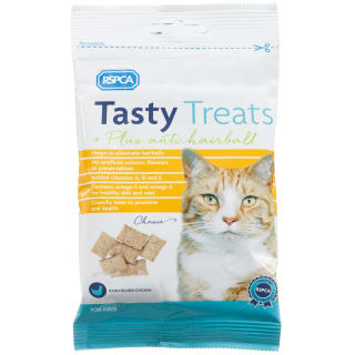 RSPCA Tasty Cat Treats - Chicken Anti-Hairball