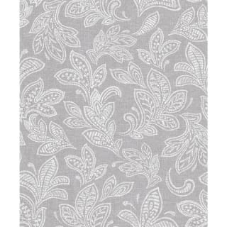Crown Calico Leaf Wallpaper - Soft Grey
