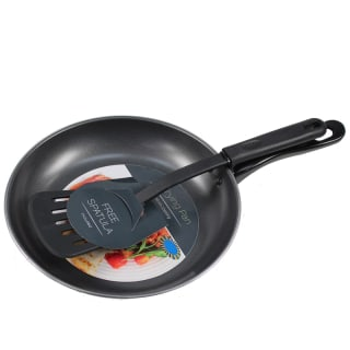Frying Pan & Spatula - 9""