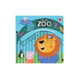 Peppa Pig Lift-the-Flap Book - At the Zoo