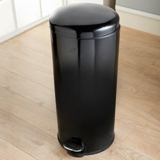 Addis Soft Close Kitchen Bin 30L - Black