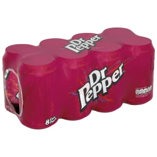 Dr Pepper Cans 8 x 330ml
