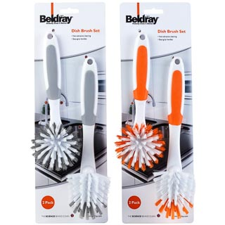 Beldray Dish Brush 2pk