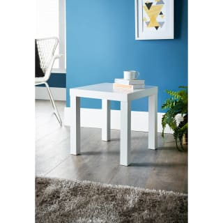Croft Side Table - White