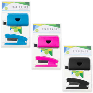 Stapler Set 3pc