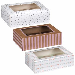Betty Winters Cupcake Boxes 4pk
