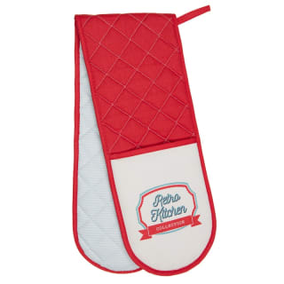 Karina Bailey Traditional Double Oven Glove - Retro