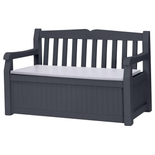 Keter Eden 2-in-1 Bench Storage Set
