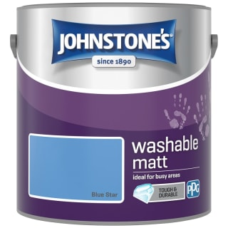 Johnstone's Washable Matt Paint - Blue Star 2.5L