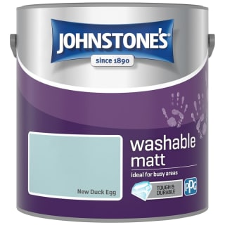 Johnstone's Washable Matt Paint - New Duck Egg 2.5L
