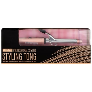 Salon Pro Styling Tongs - Rose Gold