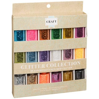 Glitter Collection 18pk