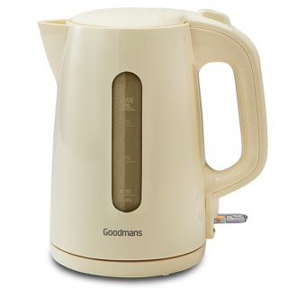 Goodmans Jug Kettle 1.7L - Cream