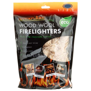 Wood Wool Firelighters 400g