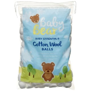 Baby Bear Cotton Wool Balls