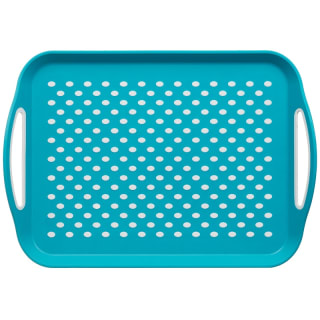 Anti-Slip Serving Tray - Teal