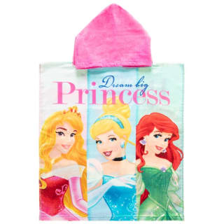 Kids Disney Princess Poncho Towel - Dream Big