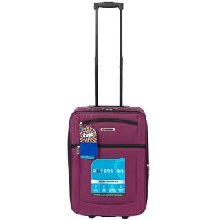 Sovereign Suitcase 55cm - Purple