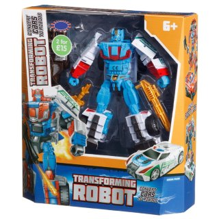 Transforming Robot Action Figure