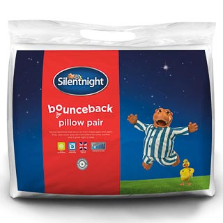 Silentnight Bounceback Pillow Pair
