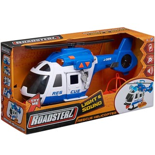Roadsterz Light & Sound Vehicles - Rescue Helicopter