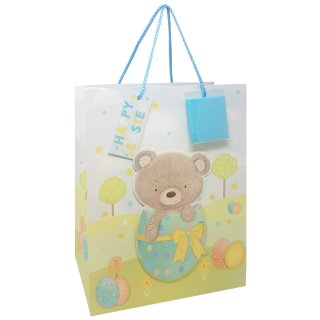 Easter Gift Bag - Bear in Egg