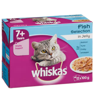 Whiskas Fish Selection in Jelly 12 x 100g