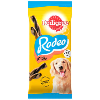 Pedigree Rodeo Dog Treats with Beef 7pk