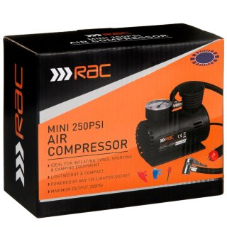 RAC Mini 250Psi Air Compressor