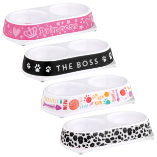 Double Pet Bowl - The Boss