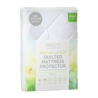 Anti-Allergy Supersoft Quilted Mattress Protector Single