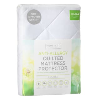 Anti-Allergy Supersoft Quilted Mattress Protector Double