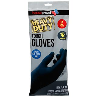 Heavy Duty Tough Gloves 2pk