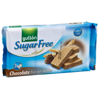 Gullon Sugar Free Chocolate Wafers 210g