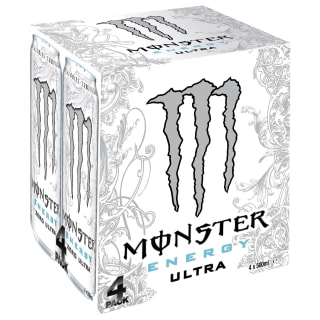 Monster Energy Drinks 4 x 500ml