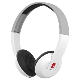 Skullcandy Uproar Wireless Headphones - White & Grey
