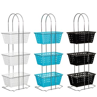 3 Tier Rectangular Storage Basket