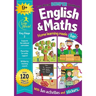 Leap Ahead Workbook English & Maths 9+