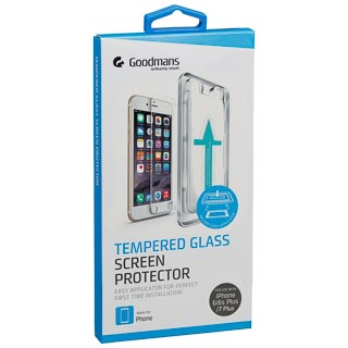 Goodmans iPhone 6+/6s+/7+ Glass Screen Protector