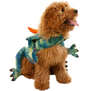 Dogs Novelty Fancy Dress Costume - Dinosaur