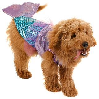 Dogs Novelty Fancy Dress Costume - Mermaid