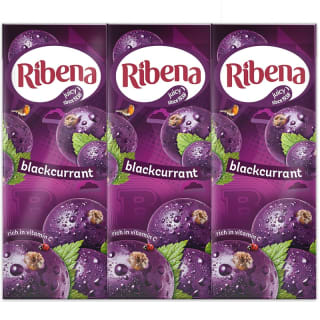 Ribena Cartons 6pk - Blackcurrant
