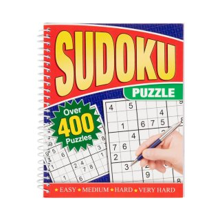 Large Print Puzzle Book - Sudoku