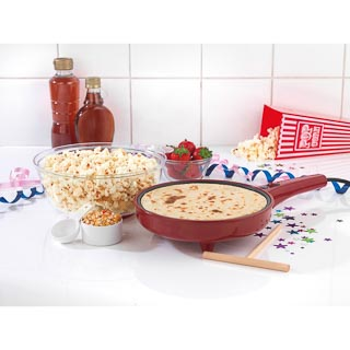 Downtown 2-in-1 Popcorn & Pancake Maker