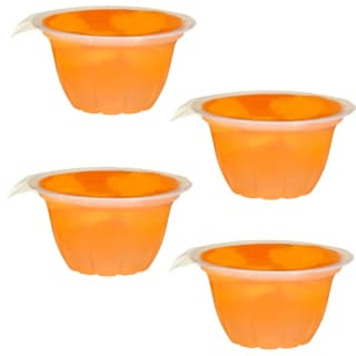 Seasons Harvest Fruit Jelly Pots 4pk - Mandarin