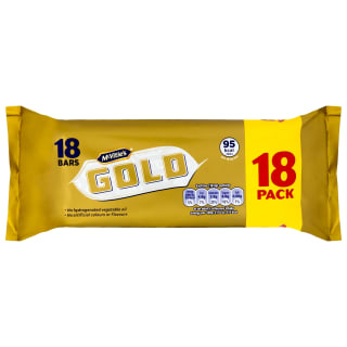 McVities Gold Biscuit Bars 18pk