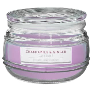 Large Scented Candle Jar - Chamomile & Ginger